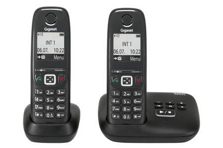 telephone sans fil duo