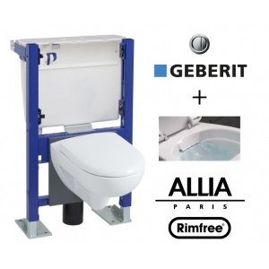 wc suspendu geberit