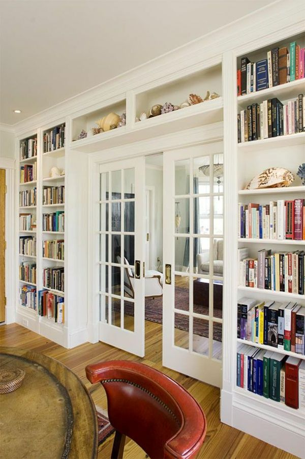 bibliothèque porte