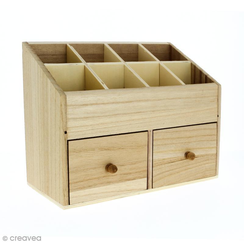 boite rangement bois
