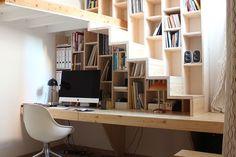 bureau avec plan de travail