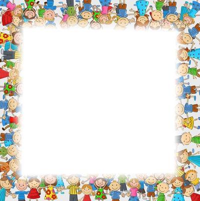 cadre photo enfant