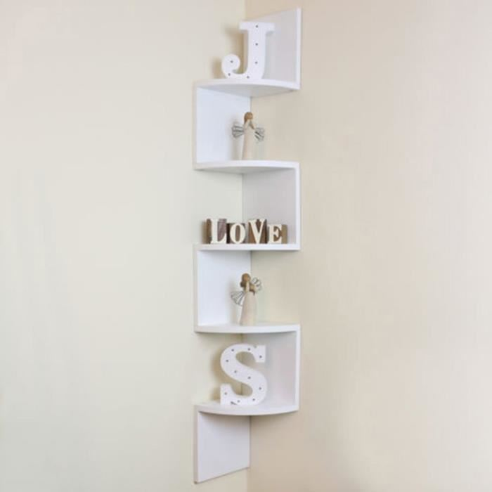 étagère murale d angle