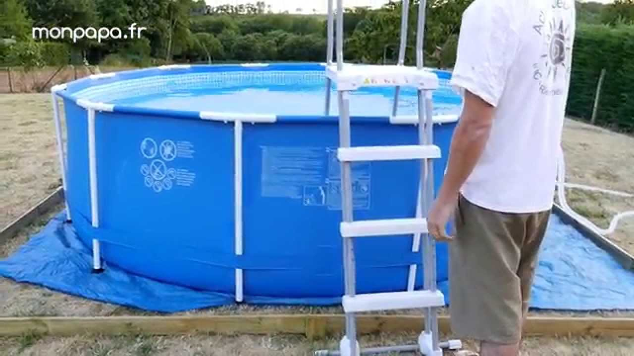 installation piscine tubulaire