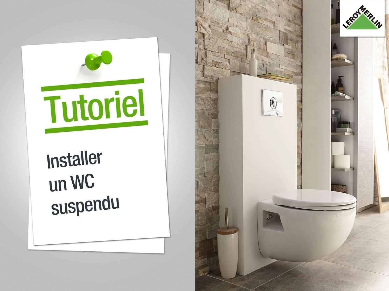 installation wc suspendu