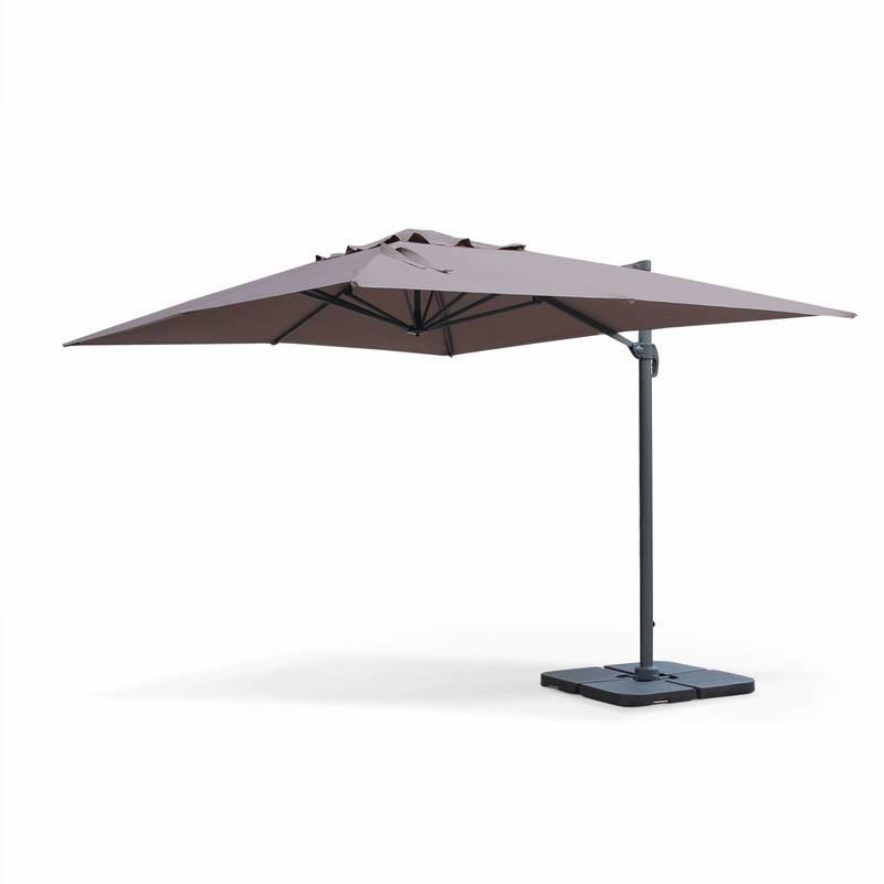 parasol déporté rectangulaire
