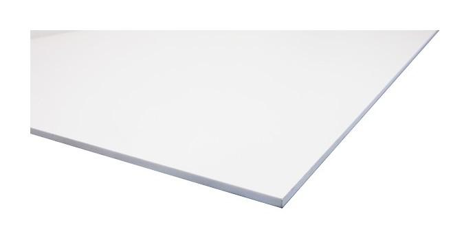 plaque pvc blanc