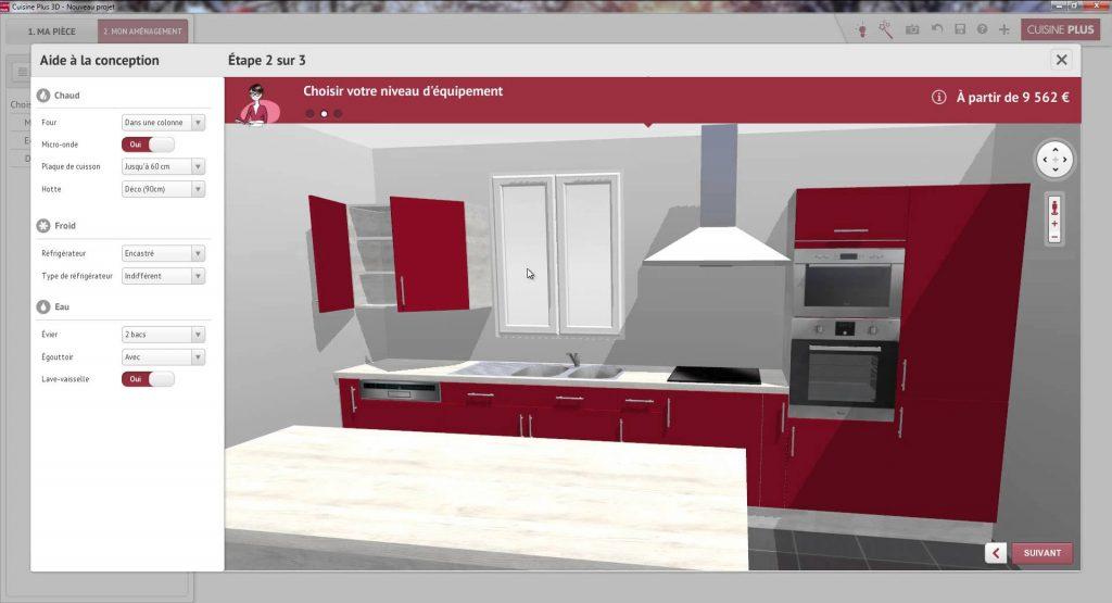 simulateur de cuisine