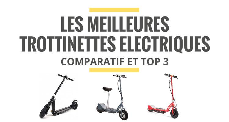trottinette electrique comparatif