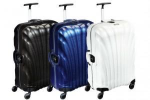 valise polycarbonate ou polypropylène