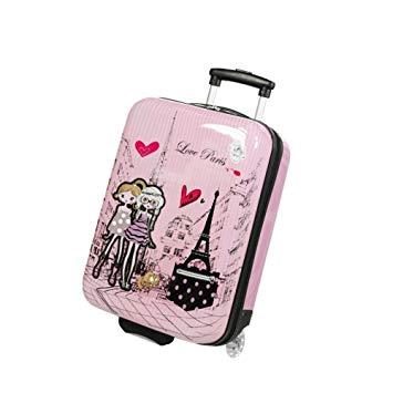 valise rose enfant
