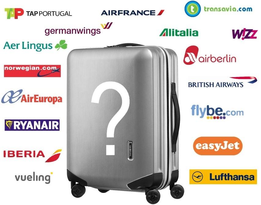 bagages autorisés en avion
