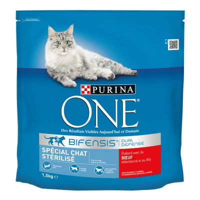 croquette chat stérilisé purina one