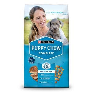 dog chow puppy