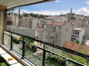 filet de protection balcon