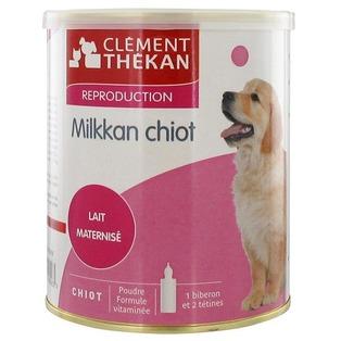 lait chiot