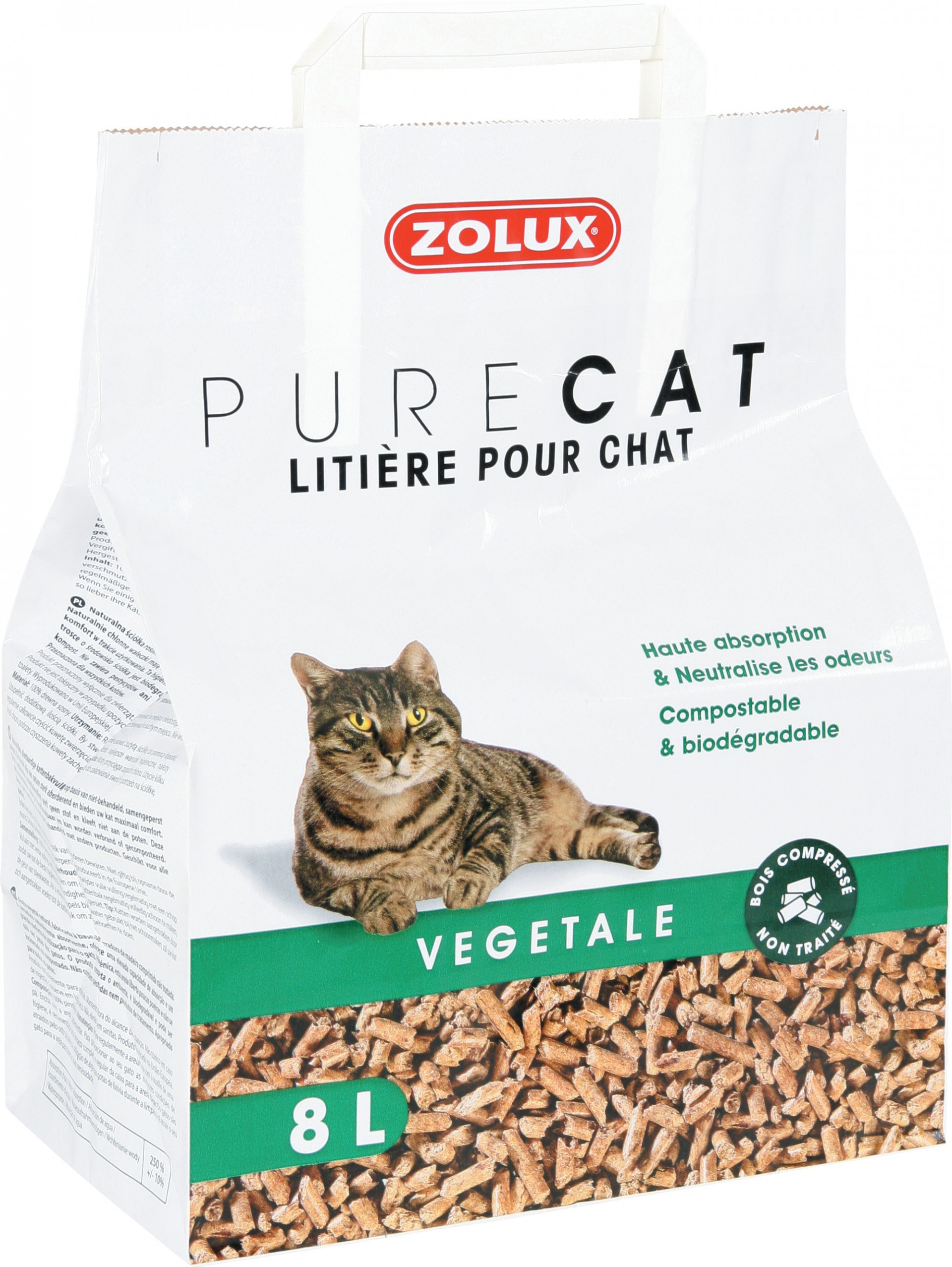 litiere vegetale chat