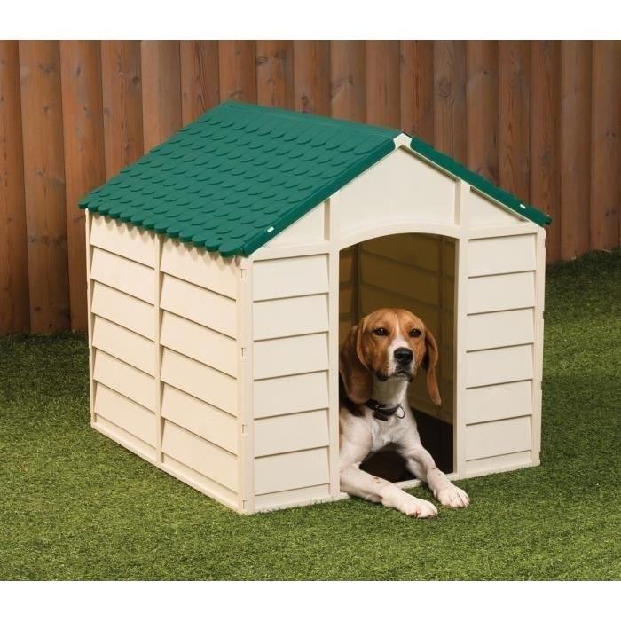 niche plastique chien