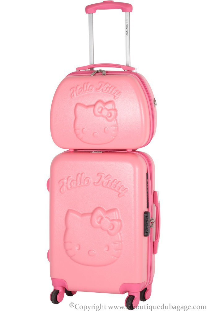 valise rigide hello kitty