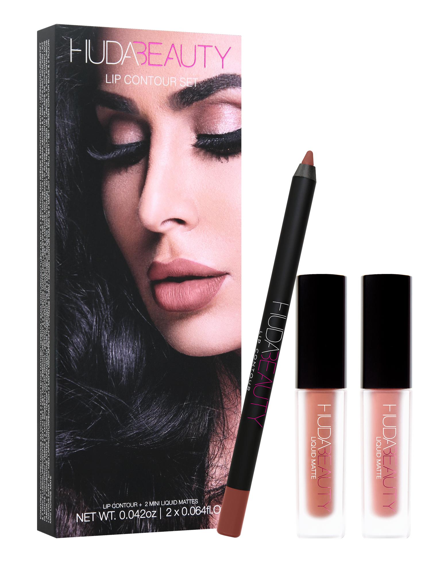 huda beauty lip contour