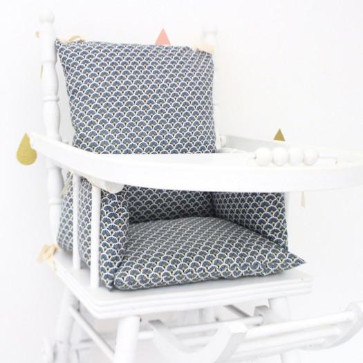 chaise haute coussin