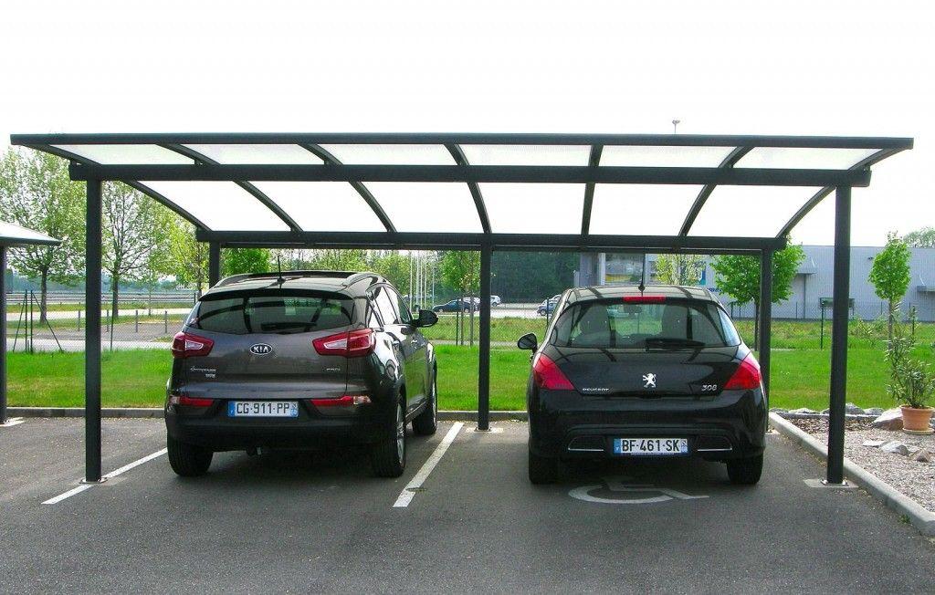carport alu 2 voitures