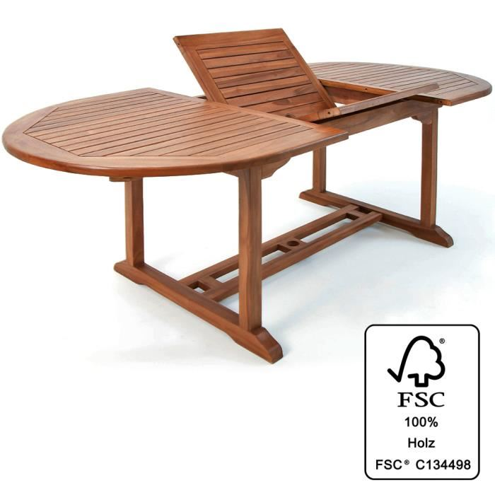 table exterieur bois